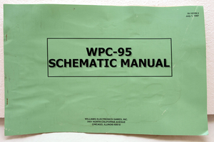 Wpc-95 schematic manual