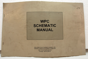 Wpc-94 schematic manual