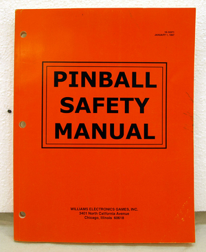 Wpc-97 safety manual