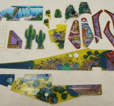 Beg.plaster Cactus canyon