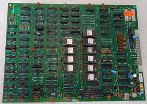 PCB kretskort Ms Pacman (bootleg)