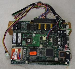 PCB kretskort speldator Fast draw (defekt)