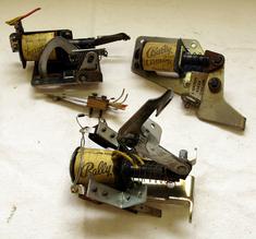 3 st enheter slingshot, launcher, kopp