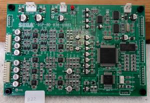 PCB kretskort Sega gunboard