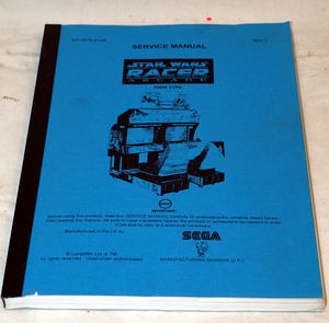 Star wars racer manual Sega