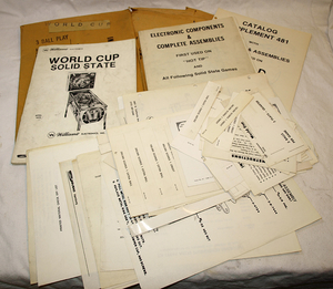 Manualpaket World cup Williams -77