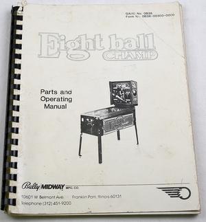 Eightball champ manual
