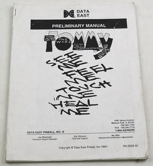 Tommy DE manual