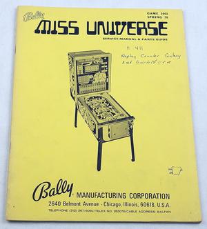 Miss Universe bingospel manual