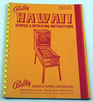 Hawaii bingospel manual