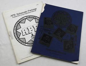 APB Atari manual